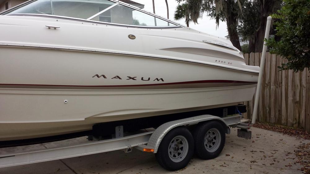 2002 Maxum 2300 SC - Photo #2
