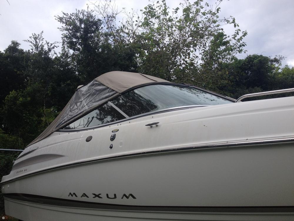 2002 Maxum 2300 SC - Photo #37
