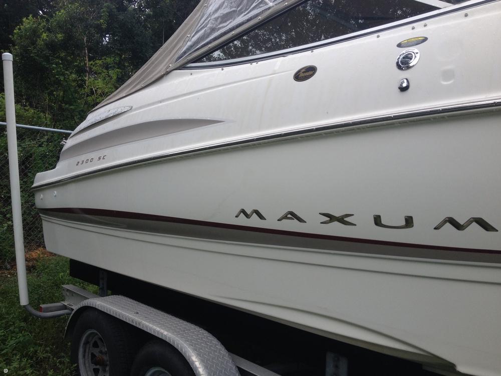 2002 Maxum 2300 SC - Photo #38