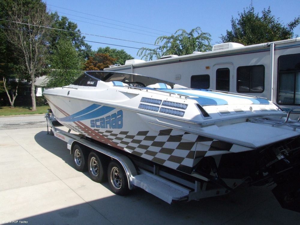 1990 Scarab 310 Excel - Photo #8