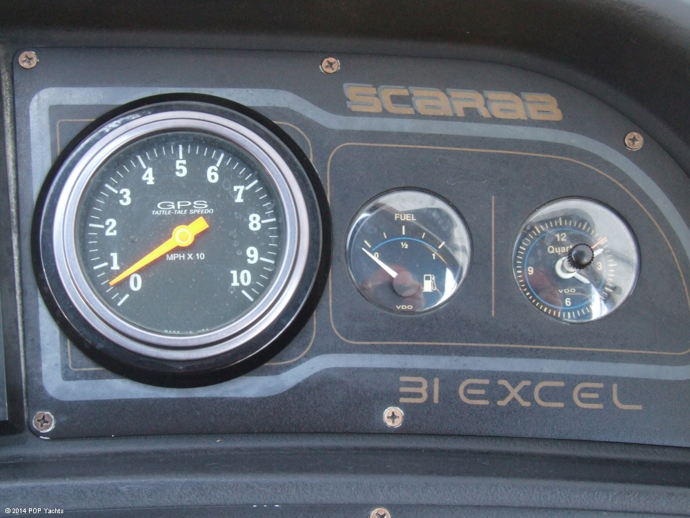 1990 Scarab 310 Excel - Photo #31