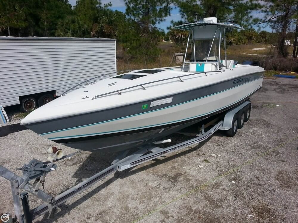 Used Wellcraft Boats For Sale in Florida by owner | 1987 Wellcraft 34 Scarab Super Sport