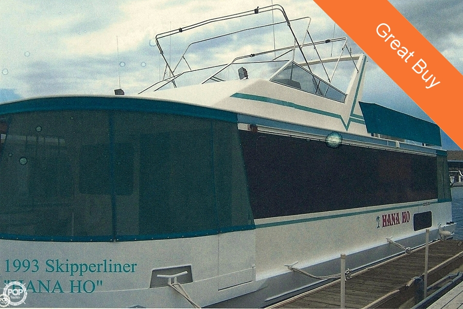 Used Boats For Sale in Las Vegas, Nevada by owner | 1993 Skipperliner 48