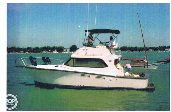 1988 pace 36 fishing boat for sale in lakeside oh for Fishing boats for sale in ohio