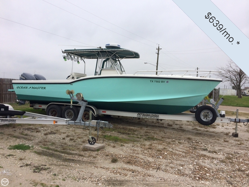 Used Ocean Master Boats For Sale by owner | 2001 Ocean Master 31